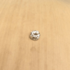 champagne brown diamond 4mm round 0.22ct LSG488