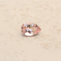 genuine true pink morganite pear cut 5x4mm - 9x6mm LSG1177