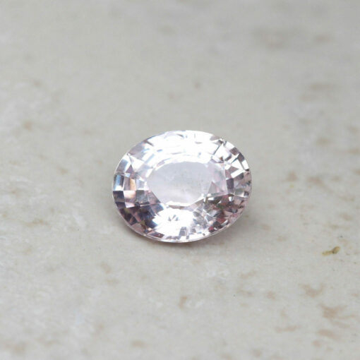 genuine loose pink sapphire 8.5x7mm oval cut 2.1 carats GIA certified LSG461