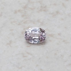 loose light pink sapphire 8x6mm oval cut 1.5 carats LSG327
